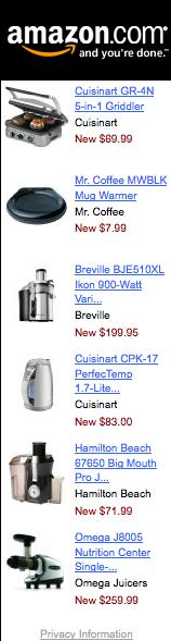 Popular Kitchen Appliances on Amazon
